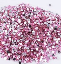 Wholesale 2000pcs 2mm Hotfix Iron On Flatback DMC Crystal Glass Rhinestone DIY