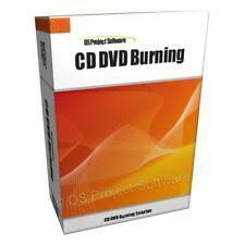 PM CD DVD Burn Burning Software for PC MAC OS X
