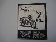 advertising Pubblicità 1969 MOTO MORINI CORSARO 125
