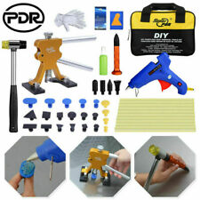 47× Paintless Dent Repair PDR Tools Lifter Glue Kit Tap Down Hammer Hail Removal