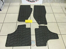 JEEP Liberty 2011-2012 Slush Style Floor Mats Dark Slate Grey SET NEW OEM MOPAR