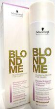 Schwarzkopf Blond Me Blond Brilliance Shampoo 8 oz Warm - Caramel  Free Shipping