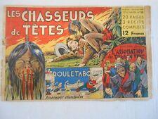 CHASSEURS DE TETE - Album Coq Hardi N°10