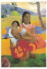 Postkarte: Paul Gauguin - When are you Getting Married?