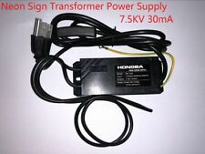 7.5kV 30mA-110VAC 50/60HZ 550mA Neon Sign Electronic Transformer Power Supply
