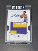 2017 National Treasures Josh Hart RC Auto RPA Sick Color Patch Rookie Autograph