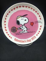 Snoopy Valentine's Day 1979-Peanuts Schmid  collector plate by Schultz ~