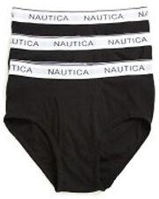 Men's Briefs Size Small S 28 30 NEW Nautica 3-pack Cotton Stretch