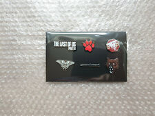 SET OF 6 ENAMEL PINS from The Last of Us Part II Collector's Edition (BRAND NEW)