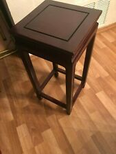 VINTAGE CHINESE SOLID WOOD SIDE/END TABLE STAND