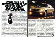 1992 BMW 535i Sedan Original 2-page Advertisement Print Art Car Ad J865