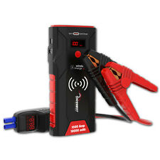 Portable 12 Volt Car Jump starter battery 1500A Power Bank Heavy duty booster AU