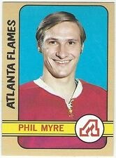 1972-73 TOPPS HOCKEY #109 PHIL MYRE ROOKIE - EXCELLENT+