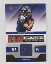 Torrey Smith  Ravens  2011 Absolute Memorabilia  NFL Rookie Jersey #34