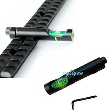 Anti Cant Spirit Bubble Level for 20mm Rifle Scope Sight Rail Weave/Picatinny