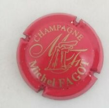 capsule champagne FAGOT michel n°11 rouge et or