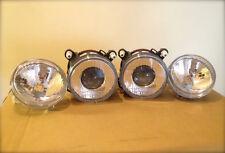 4x Lamps Lancia delta integrale EVO set Driving Lights + Headlight Fisheye