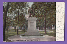 Pennsylvania - Erie Pa. Soldiers And Sailors Monument Pc. 2041