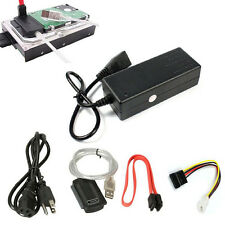 USB 2.0 a IDE SATA 2.5 3.5 Disco Rigido HD HDD Adattatore Convertitore
