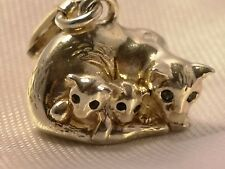 Thomas Sabo Cat Family charm 1335 BNIB rrp £77