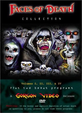 Faces of Death Collection: Complete Horror Volumes 1 2 3 4 Box / DVD Set NEW!