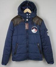 RRP €289 NICKELSON Men's Medium Hooded Warm Padded Winter Autumn Jacket 1824*mm