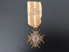 Original WWI era Polish Bractwa Kurkowe Shooting Medal / Poland
