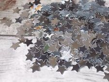 Silver Metallic star Confetti Table decoration party confetti 1cm