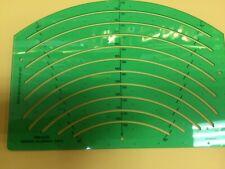 linex template ellipse arc