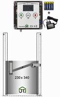 PSD- automatische Hühnerklappe mit Selbstverriegelung für Batteriebetrieb