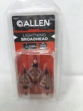 Allen Lightning Xst Broadhead 100 Grain 3-Pack New 14612A