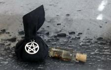 PROTECTION Mojo Gris Gris Bag w/ Potion Ritual Oil Herbs ~Wicca Witchcraft Pagan