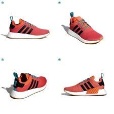 Adidas NMD R2 Summer Orange   Gum   White Mens Running Shoes CQ3080 Size 8  US 2b2f50cd1