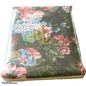"New Ralph Lauren Isadora Cossette Tablecloth 60"" x 104"" Oblong Rectangle Floral"