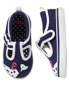 NWT Gymboree Best in Show Dalmation Sneakers Shoes Toddler girls 4,5,7,8,9