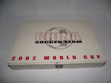 DRAGON MODELS 2002 WORLD CUP CHINA SOCCER TEAM FIGURES AND MINI CUP