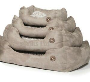 "ARCTIC SNUGGLE BED - (18"" - 34"") - Danish Design Dog Beds dd PawMits Pet Cushion"