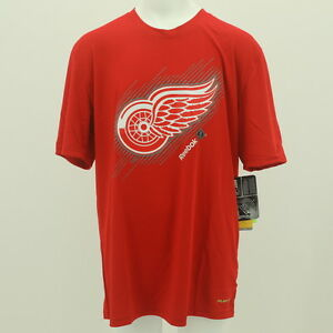 NEW Detroit Red Wings Reebok Official NHL Youth Athletic T-shirt  New With Tags