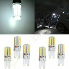6x Cold White G9 Car/Home Inside LED Lights 64SMD-3014 For Dome Trunk Bulbs