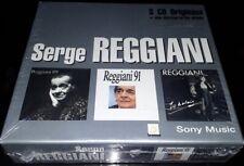 SERGE REGGIANI RARE COFFRET 3 CD ORIGINAUX + DISCOGRAPHIE ALBUM