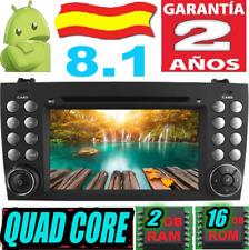 ANDROID 8.1 MERCEDES SLK R171 W171 SLK200 SLK230 280 COCHE DVD GPS CAR USB RADIO