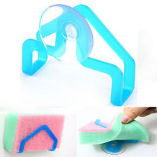 1PCS Portable Sponge Holders Suction Wall Mounted Type Kitchen Storage Tool Home