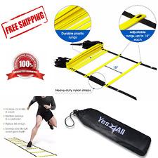 Speed Agility Training Ladder 12 Rung 15Ft Soccer Football Fitness Equipment
