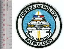 Panama Police Force Patrol Officers First Line of Defense Fuerza de Policia Patr