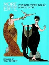 More Erte Fashion Paper Dolls in Full Colour (More... by Erte Other printed item