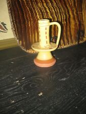 Williamsburg Restoration Pottery Candlestick