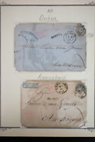 Austria 1860's Stamp Postcard Lot