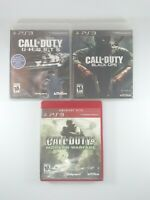 Playstation 3 PS3 Video Game Lot Bundle Call of Duty Ghosts, Black Ops, MW4