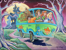 Scooby Doo Dan Bowden Signed 2020 Hanna Barbera Limited Edition Print of 200
