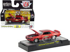 "1969 CHEVROLET CAMARO Z/28 RS RED ""MOONEYES"" LTD 1/64 DIECAST M2 32500-MOON02-S1"